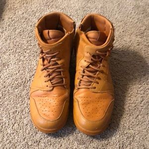 Orange Air Jordan Diagonal Laces size 8 Nike 🍊